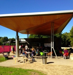 Sydney Park Kiosk front