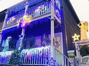 Cameron Street Christmas lights 2019