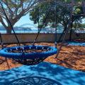 Mort Bay playground swing - Birchgrove