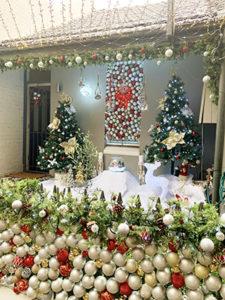 Pleasant Street Christmas baubles