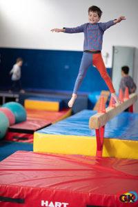 Boy jumping - Gymkidz, Newtown