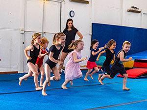 Kids running - Gymkidz, Newtown