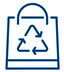 Shopping bag icon - Climate Change Initiative