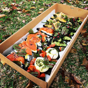 Outfields Cafe - picnic box