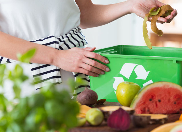 Disposing of food waste - Every Little Step Challenge