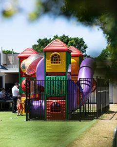 The Backyard at Briars - play area