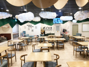 Twinkle Kids Cafe - seating