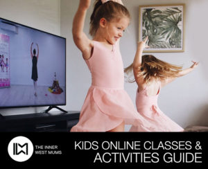 Children dancing - Kids Online Activity Guide