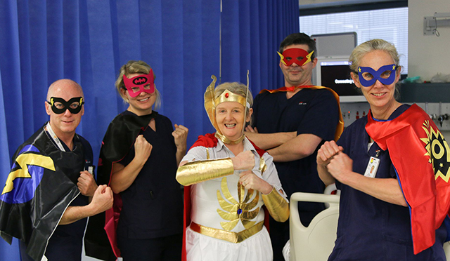 POWer Up Challenge - Doctors and nurses at the Prince of Wales Hospital