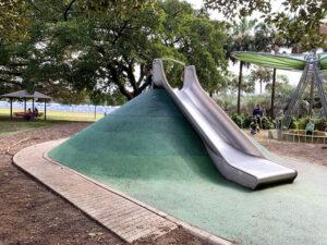 Slide at Jubilee Park