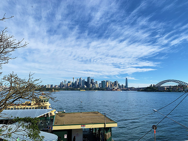 Ferry Wharf at Cremorne