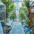 Cinderella walkway at The Grounds of Alexandria