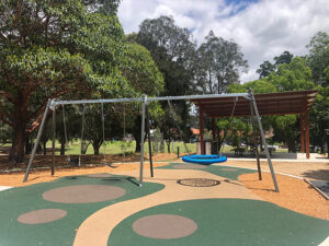 Five Dock Playground swing