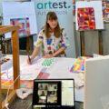 Virtual art class at ArtEst