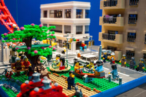 Lego Cities exhibition at Sydney Tower