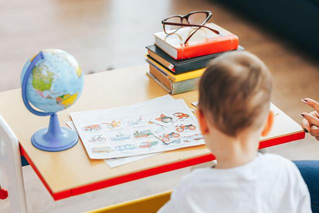 Teaching children at home