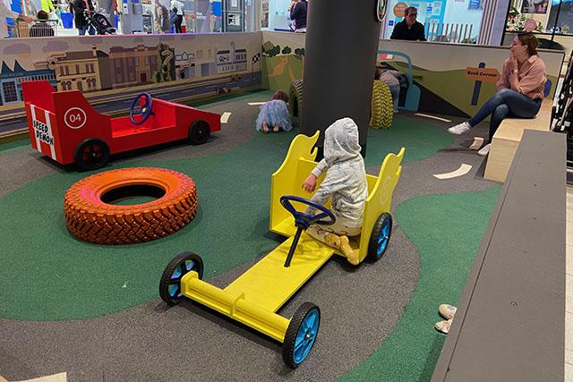 Marrickville Metro playground