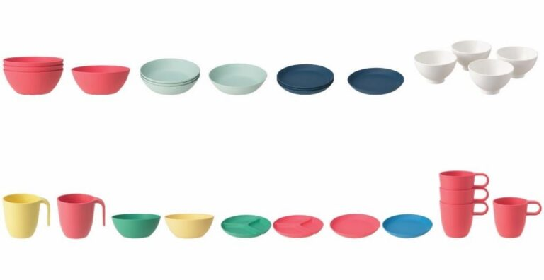 Product recall for two IKEA dinner sets