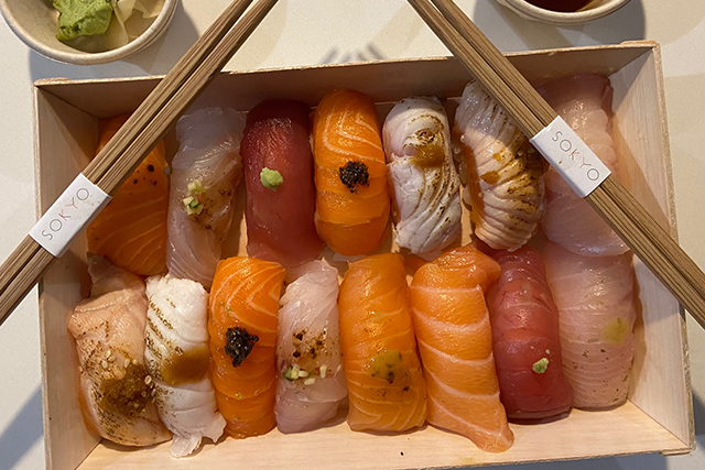 Sushi for two from Sokyo