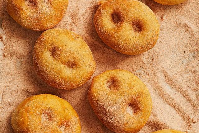 Grugno doughnuts from Big Little cookbook