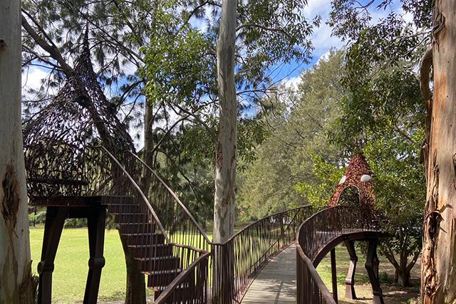 Eveleigh Green treehouses