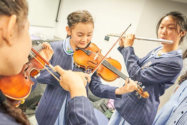 Musicians from MLC School